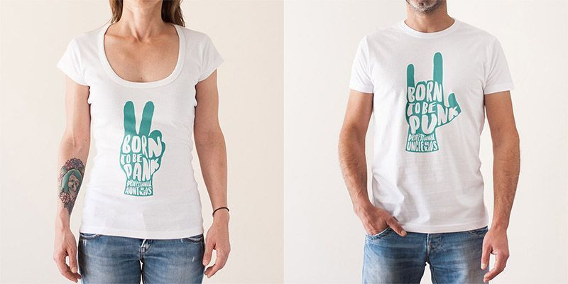 Camisetas Born to be Pank