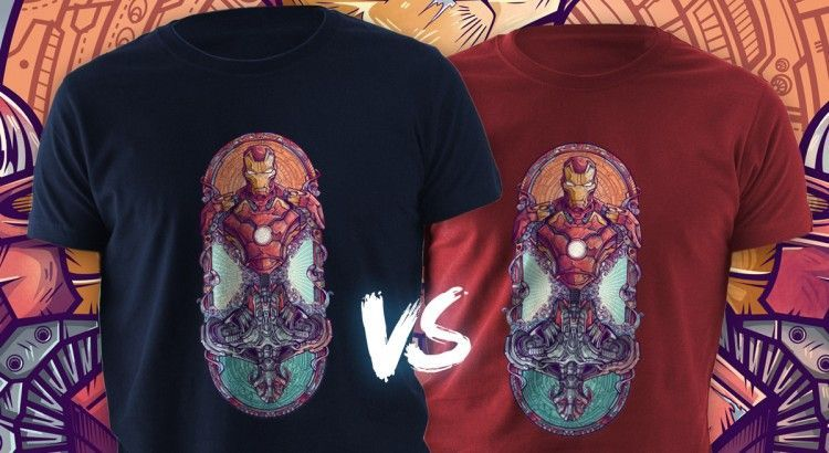 Camiseta Iron Man vs Ultrón
