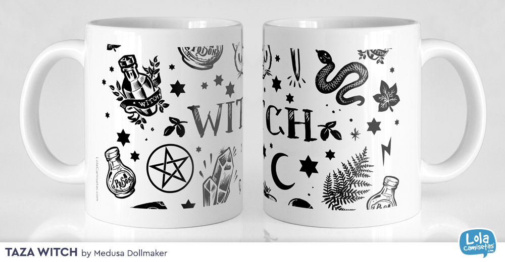 Taza Witch